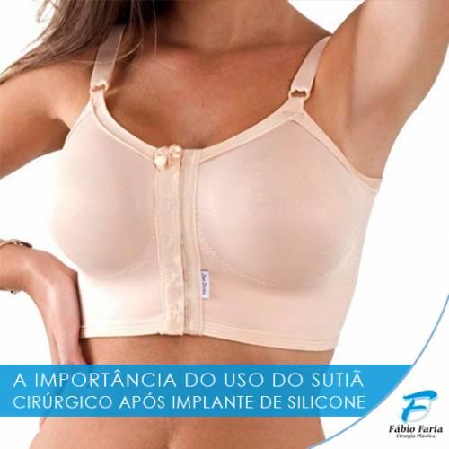 eb2654535 O uso do sutiã além da sustentação também garantirá que o implante ...